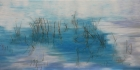 PolarkreisLicht Nr.2 2020 50 x 100 cm Öl auf Leinwand