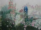 Blumengarten 2011 60 x 80 cm Öl auf Leinwand