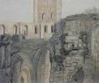 Abtei Jumièges Nr.2 2010 50 x 60 cm Öl auf Leinwand