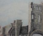 Abtei Jumièges Nr.1 2010 50 x 60 cm Öl auf Leinwand