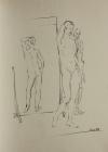 Aktstudie, Nr.3 1983 60 x 42 cm Grafitstift
