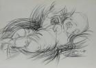 Doris 1985 21 x 29,5 cm Grafitstift
