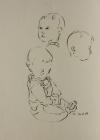 Katrin, Studie, Nr.1 1987 42 x 30 cm Grafitstift