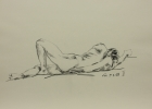 Aktstudie, Nr.2 2008 42 x 56 cm Grafitstift