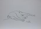 Bundesgestüt Piber, Studie Nr.10 2014 30 x 42 cm Grafitstift