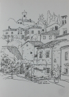 Arqua Petrarca 2016 29,5 x 20,5 cm Grafitstift