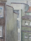 Innenhof Nr.1 1982 50 x 40 cm Aquarell