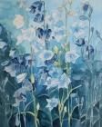 Glockenblumen 2002 49 x 39 cm Aquarell
