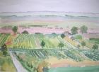 2005 Landschaft am Neusiedler See, Nr.3 2005 30 x 40 cm Aquarell