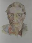 Großmutter 1983 32 x 24 cm Aquarell