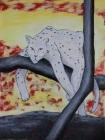 existenziell bedroht Nr.6 2020 80 x 60 cm Acryl auf Leinwand